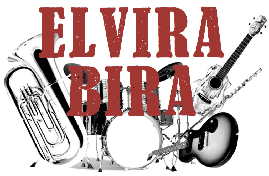 Elvira Bira red logo